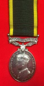 WW2 British Territorial Service Medal