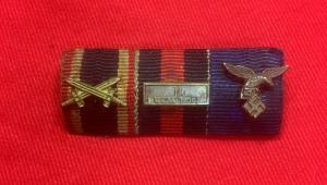 WW2 German Triple Ribbon Bar