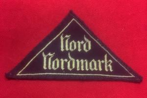 WW2 German BDM 'Nord Nordmark' District Sleeve Insignia