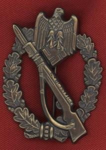 Replica WW2 German Infantry Assault Badge Bronze Grade