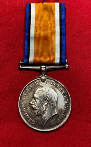 WW1 British K.O.S.B. War Medal
