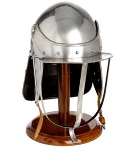 Code: S5567/MINI Replica Civil War Lobster Pot Helmet With Stand