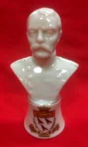 WW1 British Lord Kitchener Porcelain Bust