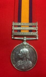 British Royal Scots Q.S.A. Medal