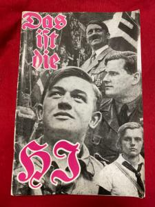 Replica WW2 German Hitler Youth 'This Is The Hitler Youth' Book