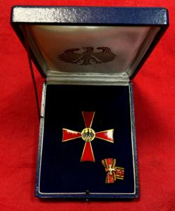 West Germany Cased Federal Merit Cross 1st Class