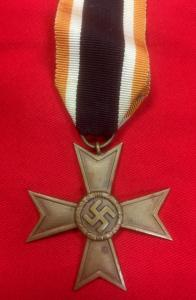 WW2 German War Merit Cross Without Swords 2nd Class