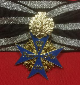 Replica WW1Imperial Blue Max With Oakleaves
