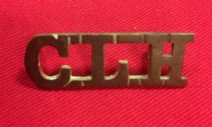 WW1 Canadian Light Horse Shoulder Title