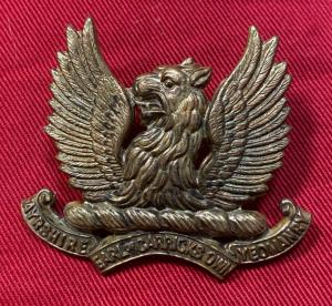 Ayrshire Earl Of Carrick's Own Yeomanry Cap Badge
