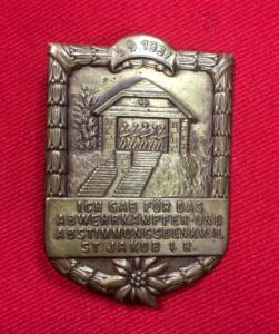 WW2 Austrian Defence Fighters Commemorative Day Badge
