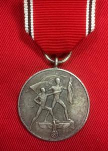 Replica 13th March Medal