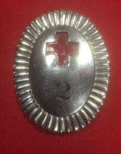 Spanish Fascist Era Red Cross Volunteers Badge