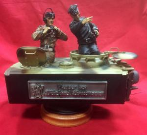 Collectors Showcase CS00255 Panzer Ace Michael Wittmann & Bobby Woll Diorama