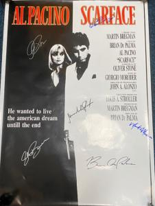 Vintage Signed Scarface Poster