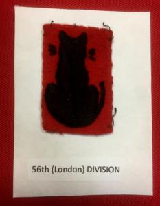WW2 British 56th London Division Shoulder Flash