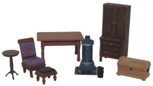 20014 - 19th Century Furnishings Accessory Set No.1