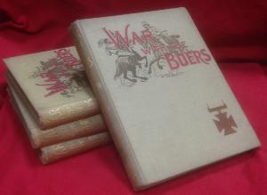 War With The Boers by H.Brown