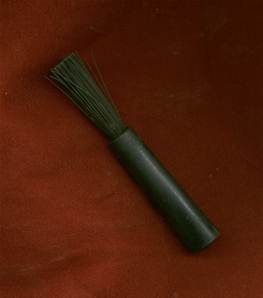 Cold War British rifle cleaning brush