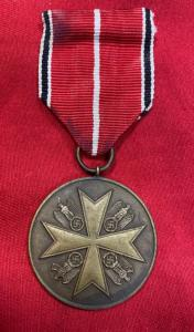 WW2 German Order Of The German Eagle In Bronze