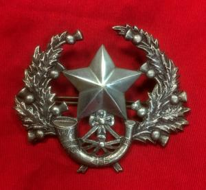 WW1/WW2 Cameronians Officer's Cap Badge