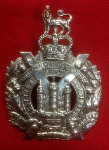K.O.S.B. Officer's Silver Hallmarked Badge