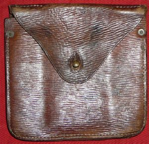 WW2 British Leather Case For Pioneer Saw