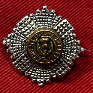 WW1 Scots Guards Silver Sweetheart Brooch
