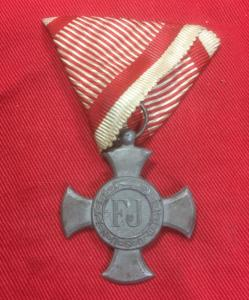WW1 Austro-Hungarian Iron Cross For Military Merit