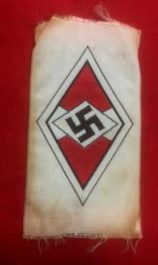 Replica WW2 German Hitler Youth Cloth Badge