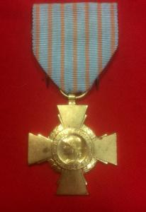 WW2 French Combatants Medal