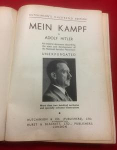 WW2 Hitler's Mein Kampf Illustrated