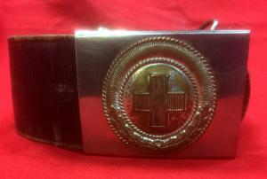 German 1933 pattern Weimar period Red Cross Belt & Buckle