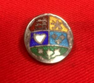 WW2 Canadian Coat Of Arms Enamel Badge