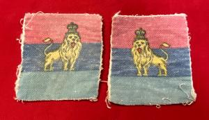 WW2 British Troops Egypt Formation Badges