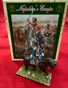 NAP0201 British 12th Light Dragoons Trooper With Carbine