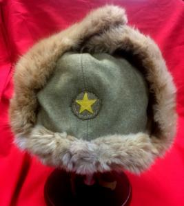 WW2 Imperial Japanese Army EM/NCO'S Winter Fur Cap