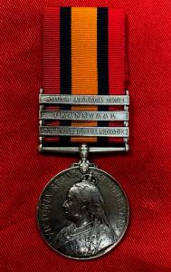 Q.S.A. 8th Hussars With Three Clasps